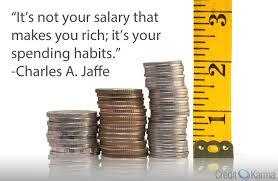 not your salary that makes you rich